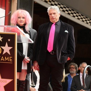 Cyndi Lauper, Harvey Fierstein in Cyndi Lauper and Harvey Fierstein Honored with A Double Walk of Fame Star