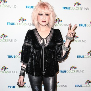 Cyndi Lauper in Cyndi Lauper and Friends: Home for The Holiday's Concert - Arrivals
