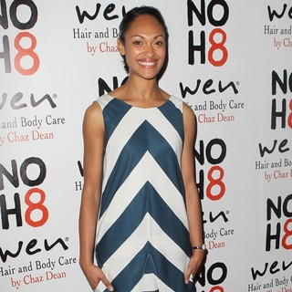Cynthia Addai-Robinson in NOH8 Celebrity Studded 4th Anniversary Party - Arrivals