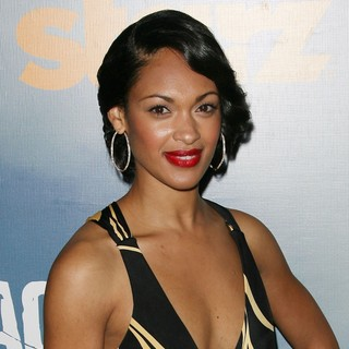 Cynthia Addai-Robinson in Premiere of Starz' Spartacus: Vengeance