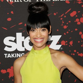 Cynthia Addai-Robinson in U.S. Premiere Screening of Spartacus: War of the Damned