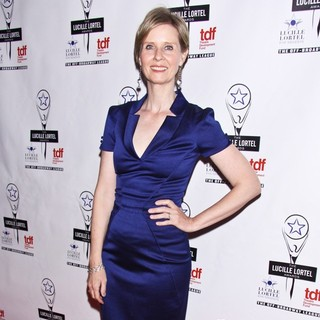 Cynthia Nixon in 28th Annual Lucille Lortel Awards - Arrivals
