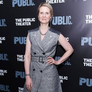 Cynthia Nixon in Ain't No Mo Opening Night Party - Arrivals