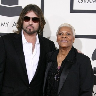 Billy Ray Cyrus, Dionne Warwick in The 56th Annual GRAMMY Awards - Arrivals