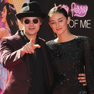 Bobby Alt, Caroline D'Amore in Katy Perry: Part of Me Los Angeles Premiere