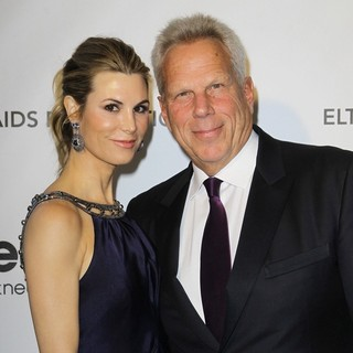 Nicole Dairy, Steve Tisch in 21st Annual Elton John AIDS Foundation's Oscar Viewing Party