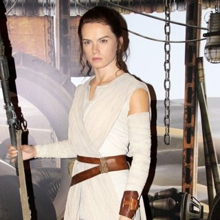 Daisy Ridley-The Unveiling of A Wax Figure Depicting Daisy Ridley's Star Wars Character Rey