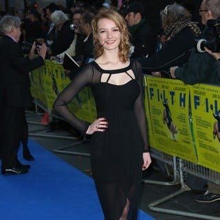 Filth UK Film Premiere - Arrivals - dakota-blue-richards-uk-premiere-filth-05