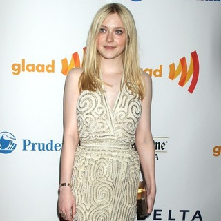 Dakota Fanning in 23rd Annual GLAAD Media Awards