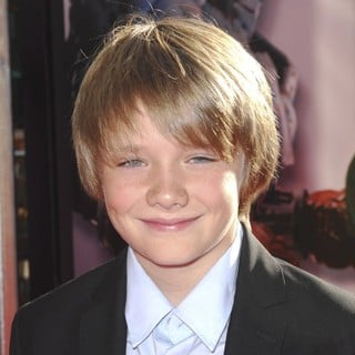 Dakota Goyo in Los Angeles Premiere of Real Steel