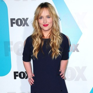 Dakota Johnson in 2012 Fox Upfront Presentation - Arrivals