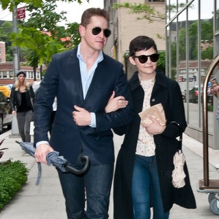 Josh Dallas, Ginnifer Goodwin in Ginnifer Goodwin and Josh Dallas Return to Their Hotel