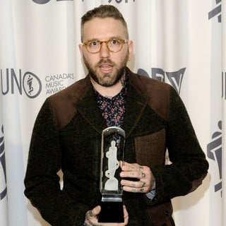 City and Colour in 2012 JUNO Awards - Press Room