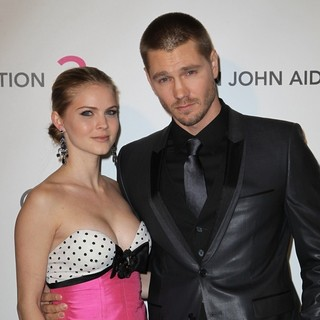 Kenzie Dalton, Chad Michael Murray in 21st Annual Elton John AIDS Foundation's Oscar Viewing Party
