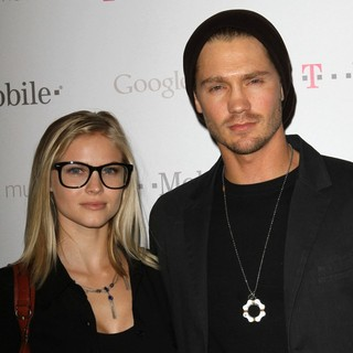 Kenzie Dalton, Chad Michael Murray in Celebrity Magenta Carpet Arrivals at The Launch Party for Google Music Available on T-Mobile