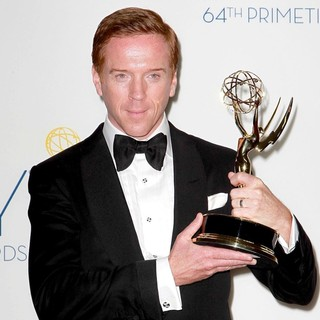 Damian Lewis in 64th Annual Primetime Emmy Awards - Press Room