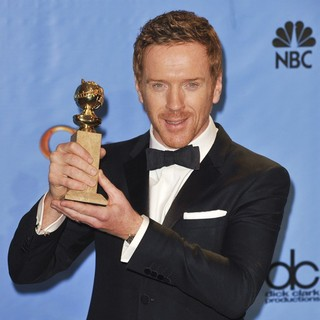 Damian Lewis in 70th Annual Golden Globe Awards - Press Room