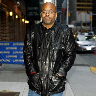Damon Dash in Damon Dash for The Late Show with David Letterman