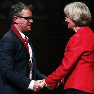 Harvard University Honours Matt Damon with The 2013 Arts Medal