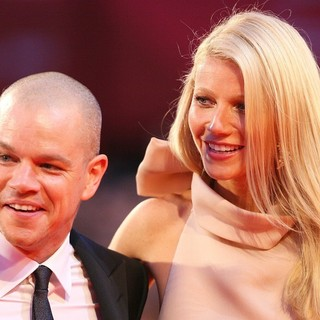 Matt Damon, Gwyneth Paltrow in The 68th Venice Film Festival - Day 4 - Contagion - Premiere- Arrivals
