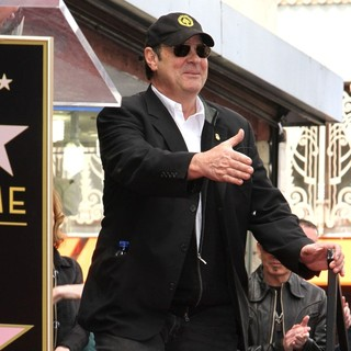 Dan Aykroyd in John Cusack Honored with A Star on The Hollywood Walk of Fame