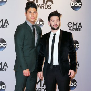 Dan + Shay in 48th Annual CMA Awards - Red Carpet - dan-shay-48th-annual-cma-awards-01