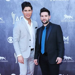 Dan + Shay in 49th Annual Academy of Country Music Awards - Arrivals - dan-shay-49th-annual-academy-of-country-music-awards-02