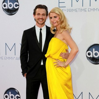 Hugh Dancy, Claire Danes in 64th Annual Primetime Emmy Awards - Arrivals
