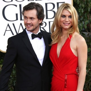 Hugh Dancy, Claire Danes in 70th Annual Golden Globe Awards - Arrivals