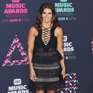 Danica Patrick in 2016 CMT Music Awards - Arrivals