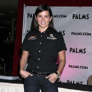 Danica Patrick in Palms Casino Resort Welcomes Nascar Stars Danica Patrick and Cole Whitt to Sign Autographs