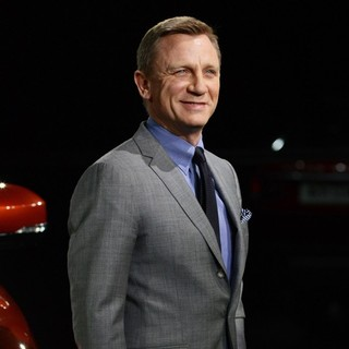 Daniel Craig in The Range Rover Sport World Unveiling at The 2013 New York Auto Show