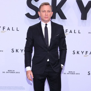 Daniel Craig in The German Premiere of Skyfall