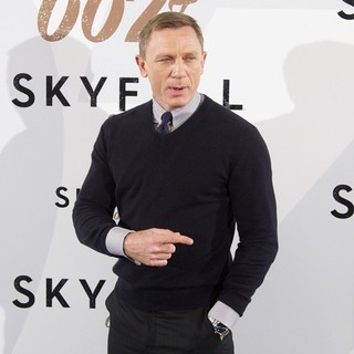 Daniel Craig in Skyfall Photocall