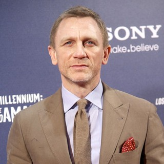 Daniel Craig in Miillenium: The Girl With The Dragon Tattoo Premiere - Arrivals