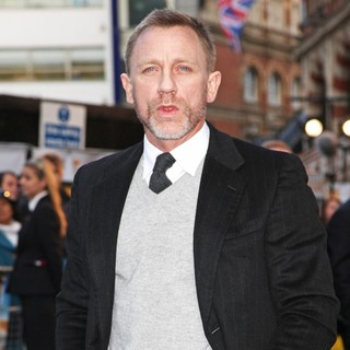 Daniel Craig in The UK Film Premiere of The Adventures of Tintin: The Secret of the Unicorn - Arrivals
