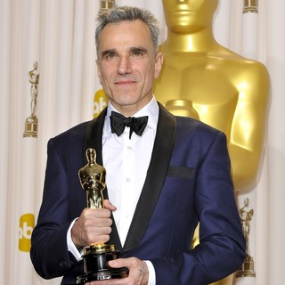 Daniel Day-Lewis in The 85th Annual Oscars - Press Room