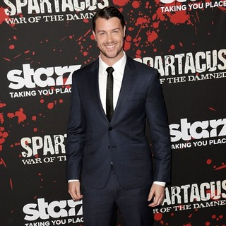 Daniel Feuerriegel in U.S. Premiere Screening of Spartacus: War of the Damned