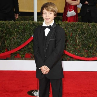 Daniel Huttlestone in 19th Annual Screen Actors Guild Awards - Arrivals