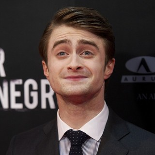 Daniel Radcliffe in The Woman in Black Madrid Premiere