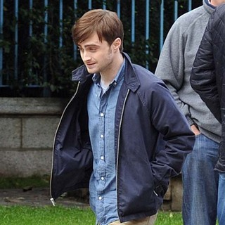 Daniel Radcliffe in On The Film Set of The F-Word