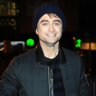 Daniel Radcliffe in A Photocall for Kill Your Darlings Cut Up Exhibition