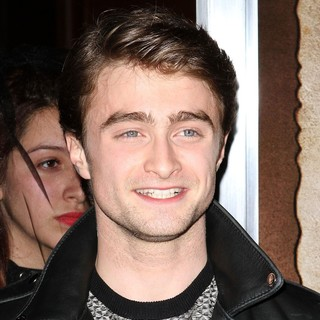 Daniel Radcliffe in The Premiere of CBS Film's The Woman in Black Shown