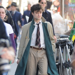 Daniel Radcliffe in On The Set of Kill Your Darlings