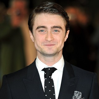 Daniel Radcliffe in The Premiere of The Woman in Black