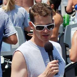 Daniel Tosh Hosts A Treadmill Marathon