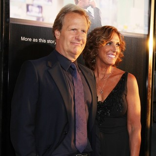 Jeff Daniels, Kathleen Treado in HBO's The Newsroom Los Angeles Premiere