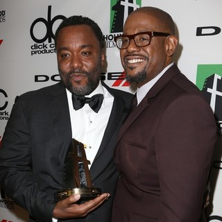 Lee Daniels, Forest Whitaker in The 17th Annual Hollywood Film Awards