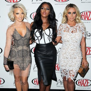 Shannon Bex, Dawn Richard, Aubrey O'Day, Danity Kane in Danity Kane Bring Lemonade to HAZE Nightclub