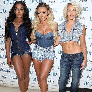 Dawn Richard, Aubrey O'Day, Shannon Bex, Danity Kane in Danity Kane Take Over LIQUID